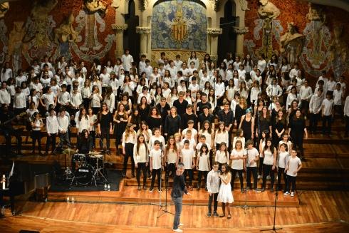 CANT CORAL CANTATA AL PALAU DE LA MÚSICA CATALANA amb els solistes Júlia i Nil _DSC2536